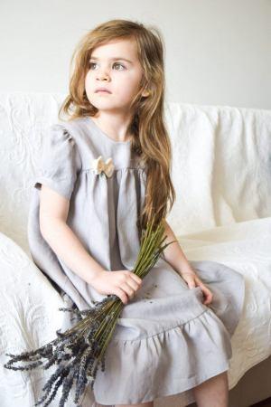 lekka-lniana-szara-sukienka-dla-dziewczynki-vintage-naslub-wesele-lato-lilen-lilenstore