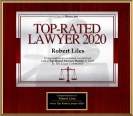 "Robert Liles has been named a ""Top-Rated Lawyer for 2020"""