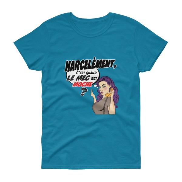 "Punchliness ""Harcèlement"" - T-shirt femme manches courtes"