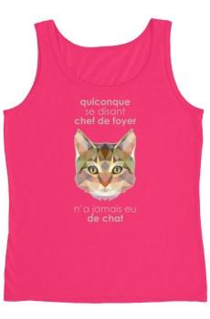 """Zoo """"Chat"""" - Débardeur Femme"""