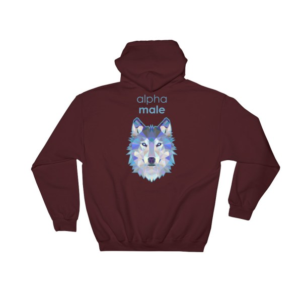 "Zoo ""Loup"" - Sweat à capuche Homme"