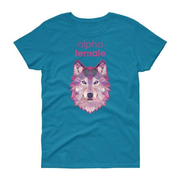 "Zoo ""Loup"" - T-shirt Femme manches courtes"