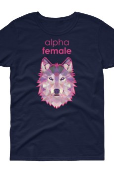 "Zoo ""Loup"" - T-shirt Femme manches courtes"