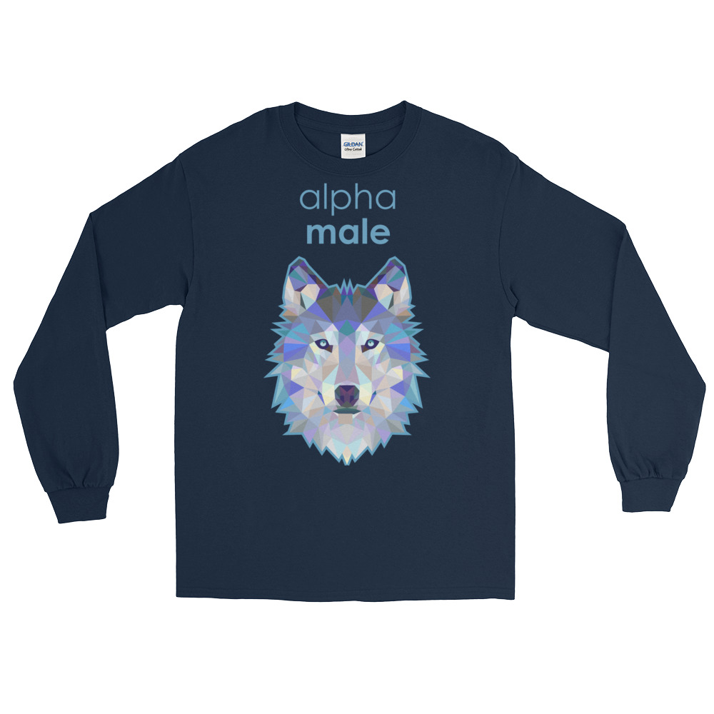 "Zoo ""Loup"" – T-shirt manches longues Homme"