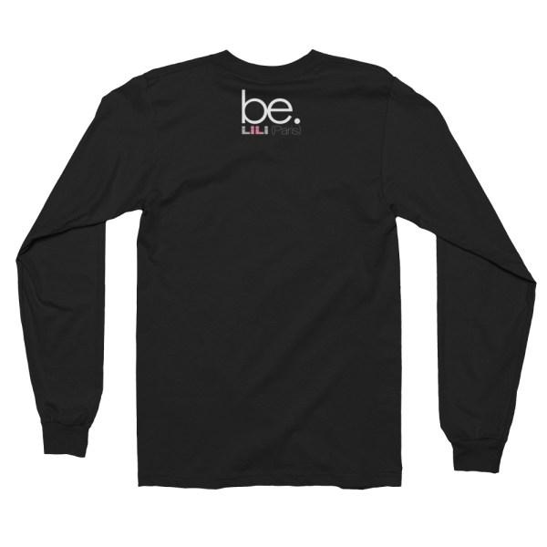"Black Edition : Handwritings ""Humain"" - T-shirt manches longues Homme et Femme (Unisexe)"