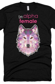 "Black Edition : Zoo ""Loup"" - T-shirt manches courtes Femme"