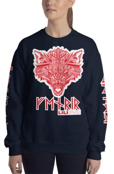 "Fenrir ""Tatoo"" - Sweat-shirt Unisexe"