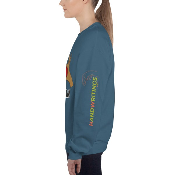 "Handwritings ""Humain"" - Sweat-shirt Unisexe"