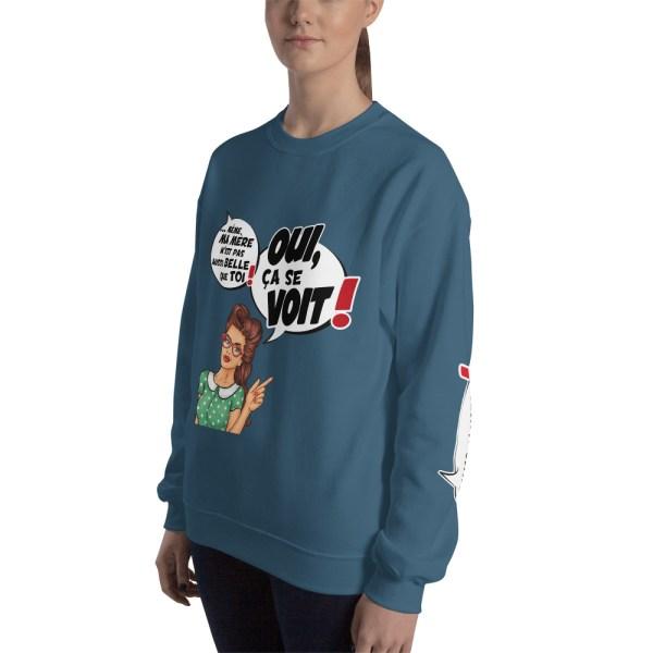 "Punchliness ""Ça se voit !"" - Sweat-shirt Femme"