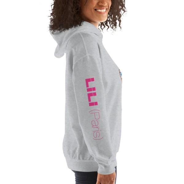 """Punchliness """"Problème réglé !"""" - Sweat-shirt à capuche Femme"""