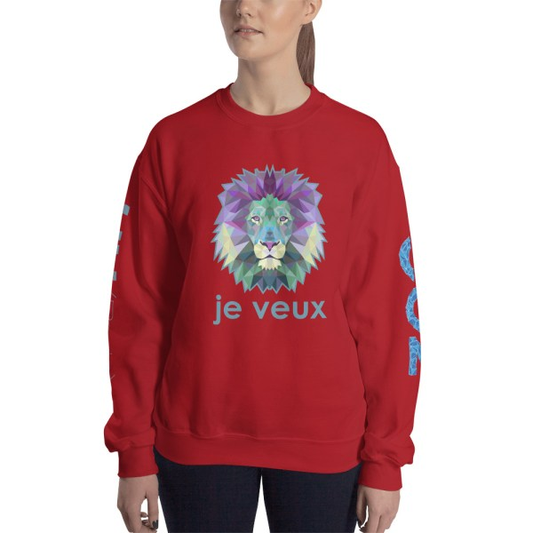 "Zoo ""Lion"" - Sweat-shirt Unisexe"