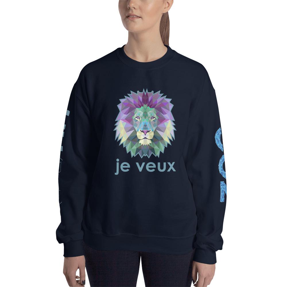"Zoo ""Lion"" – Sweat-shirt Unisexe"