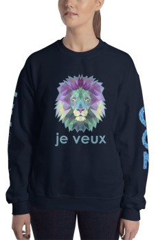 "Zoo ""Lion"" - Sweat-shirt Unisexe"