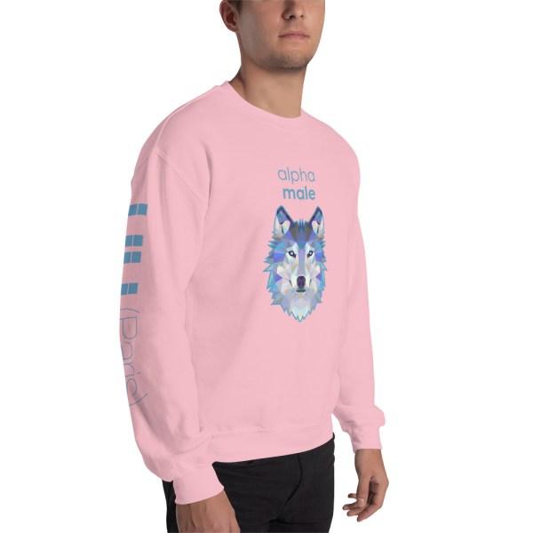 "Zoo ""Loup"" - Sweat-shirt pour Hommes"