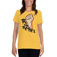 Lookbook Gilets Jaunes - R for Rebel - T-shirt Femme