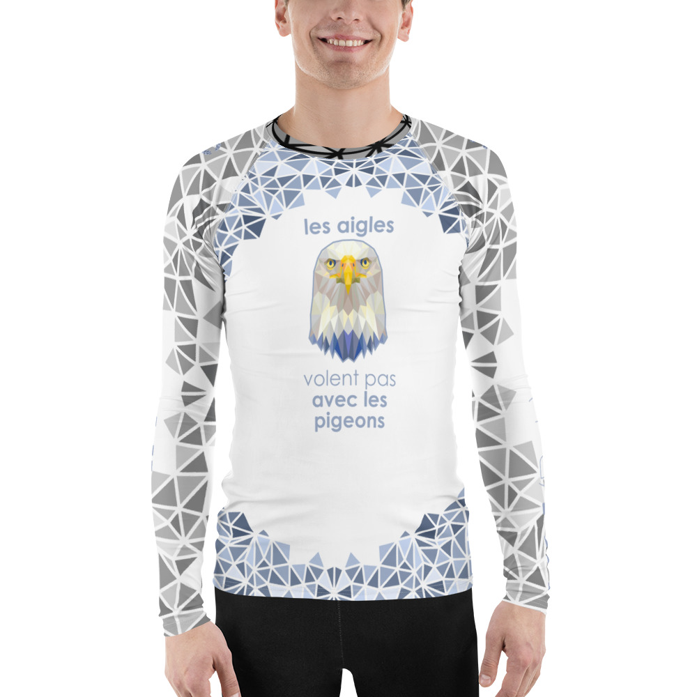 "Zoo ""Aigle"" – Rashguard Hommes"