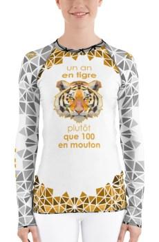 "Zoo ""Tigre"" - Rashguard Femmes"