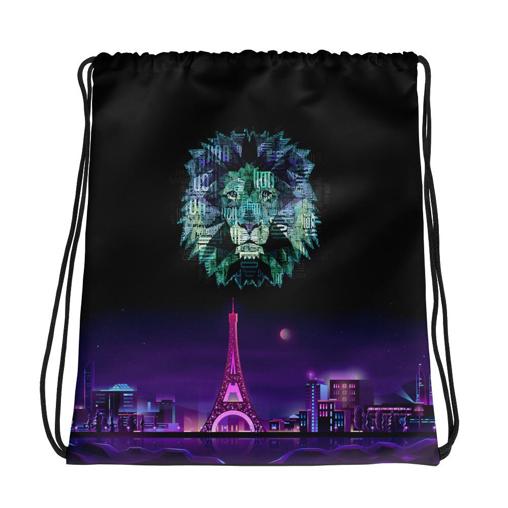 """Zoo """"Lion"""" – Sac à cordons"""