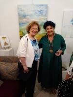 con Marisa Laurito
