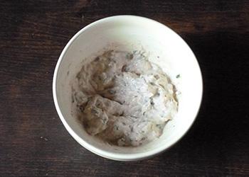 étape recette Toasts de concombre et rillettes de thon