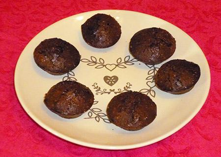 Minis Moelleux au chocolat