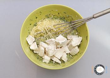 Ajout fromage de chèvre