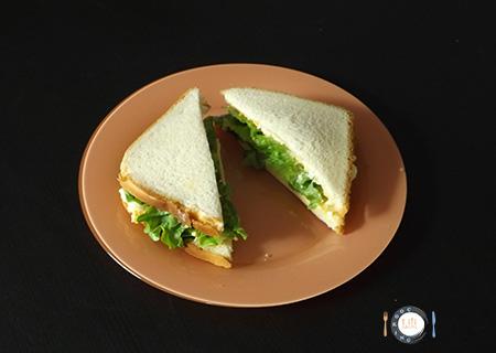 Sandwich aux œufs
