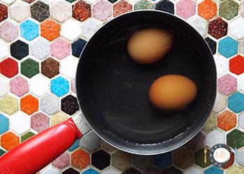 cuisson œuf dur