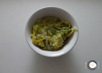 fondue de poireau