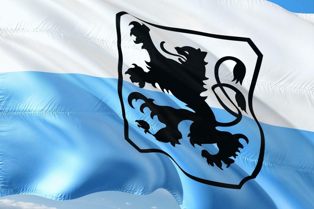 Fahne TSV 1860 München