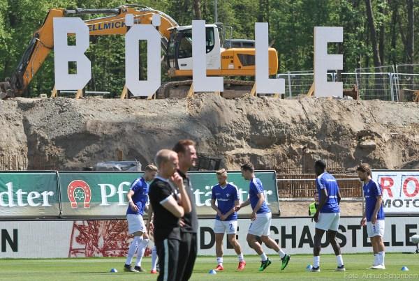Stadion am Böllenfalltor, Gegengerade, SV Darmstadt 98