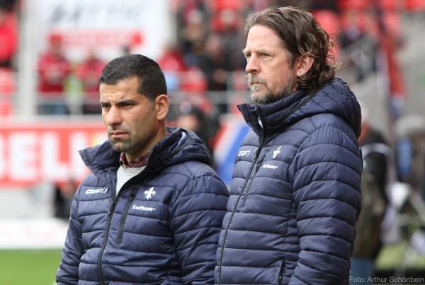 Dimitrios Grammozis, SV Darmstadt 98 (links), neben Carsten Wehlmann