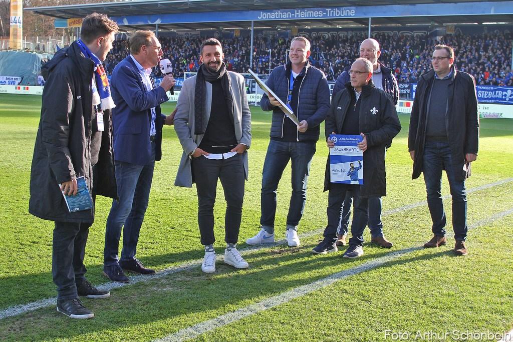 Lilien-Ehrenspielführer Aytac Sulu, SV Darmstadt 98 gegen HSV