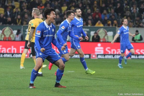 Dynamo Dresden - SV darmstadt 98