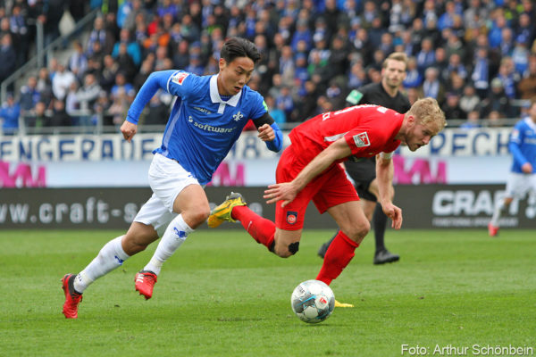 Seung-ho Paik (백승호), SV Darmstadt 98 - FC Heidenheim