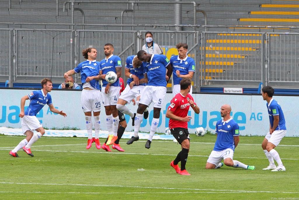 SV Darmstadt 98 - Hannover 96