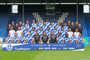 Mannschaftsfoto-2020-21, SV Darmstadt 98