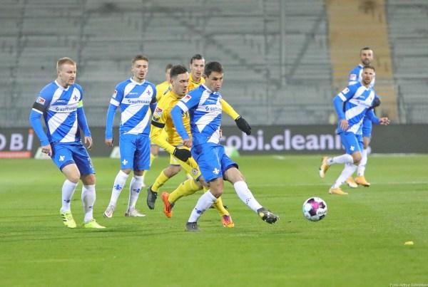 Fabian Schnellhardt (Mitte), SV Darmstadt 98 - Eintracht Braunschweig