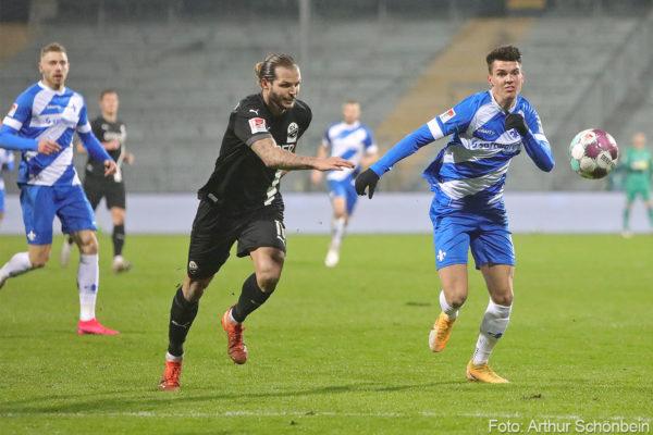 SV Darmstadt 98 - SV Sandhausen
