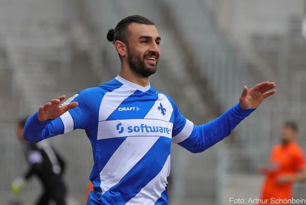 Serdar Dursun, SV Darmstadt 98 - Erzgebirge Aue