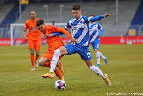 Mathias Honsak, SV Darmstadt 98 - Erzgebirge Aue