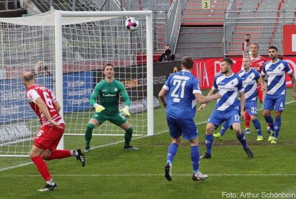 Carl Klaus, Würzburger Kickers - SV Darmstadt 98