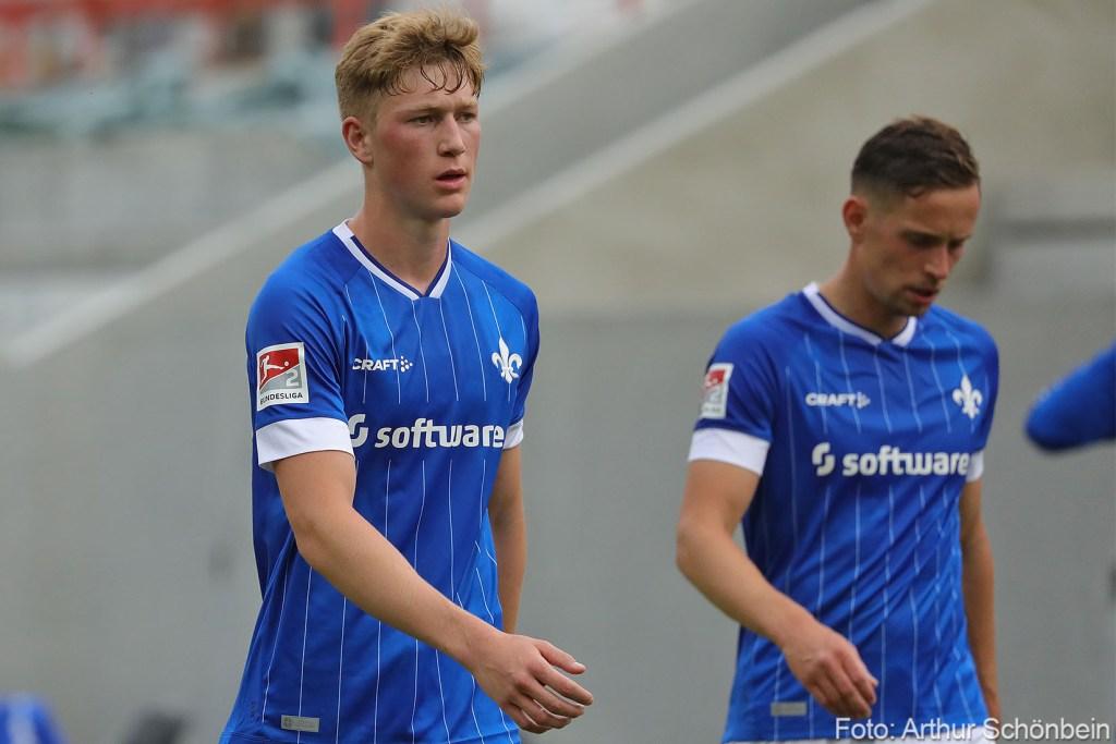 Clemens Riedel (links), SV Darmstadt 98 - FC Swift Hesperingen - Testspiel