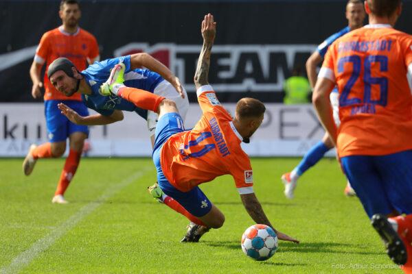 Tobias Kempe, FC Hansa Rostock - SV Darmstadt 98