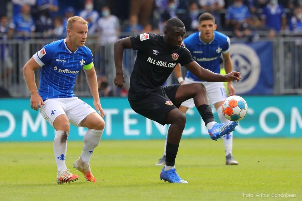 Fabian Holland, SV Darmstadt 98 - Dynamo Dresden