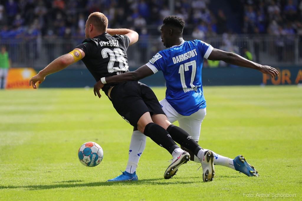 Frank Ronstadt, SV Darmstadt 98 - Dynamo Dresden