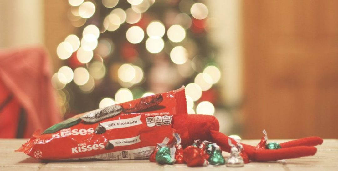 Elf on the Shelf: Eating the Candy
