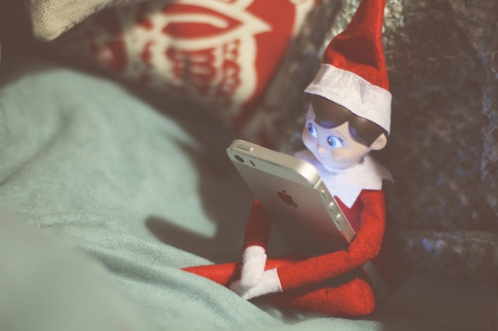 Elf on the Shelf: Took My iPhone