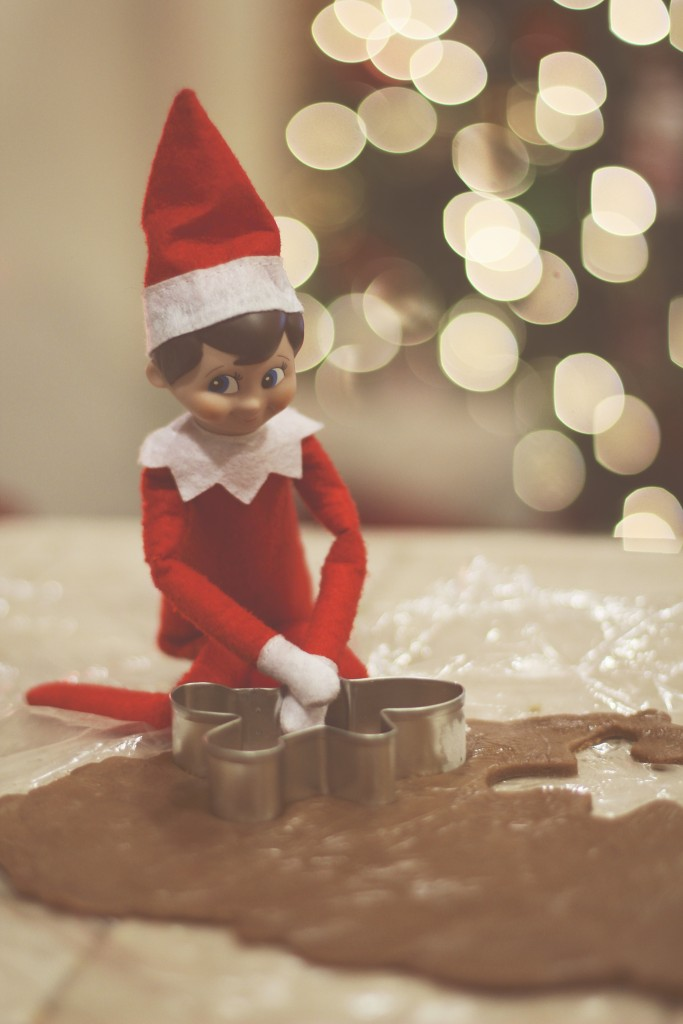 Elf on the Shelf: Gingerbread Cookies