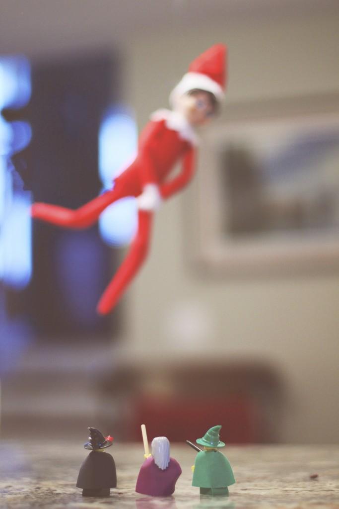Elf on the Shelf: Wingardium Leviosa